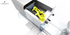 6 Axis Robot integration with IMM 3200 T