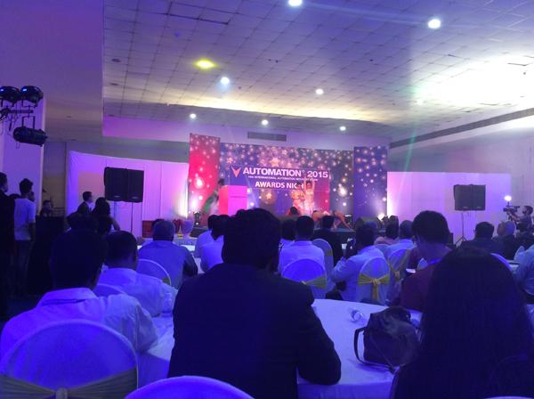 Closing Ceremony, Automation Expo 2014, Mumbai