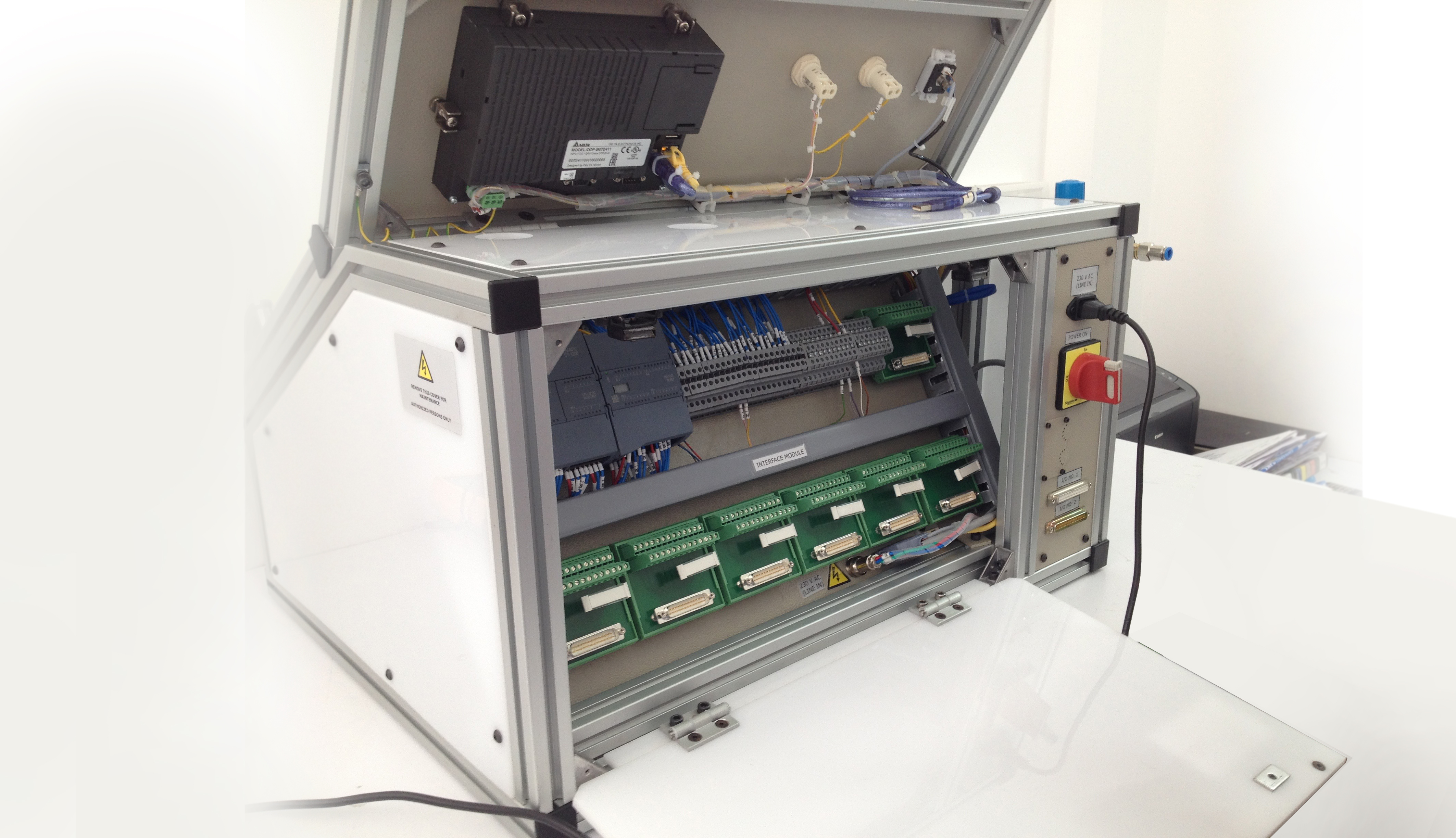 Built in PLC Control Module