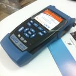 Measuring instrument for fiber optic technology.